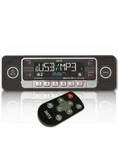 DIETZ Retro 201 BT 1 DIN Bluetooth/USB/SD/CD Autoradio