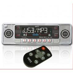 DIETZ Retro 200 BT 1 DIN Bluetooth/USB/SD/CD Autoradio
