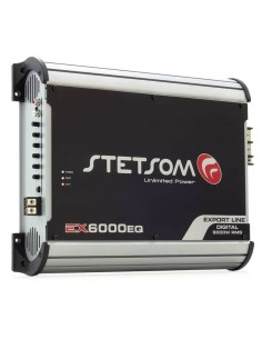 STETSOM EX6000EQ_2 Amplifier 1 channel 2ohm