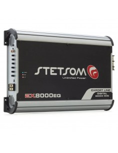 STETSOM EX8000EQ_2 Amplifier 1 channel 1 ohm