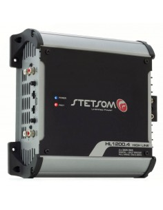 STETSOM HL1200.4 Amplifier 4 channel 1 ohm