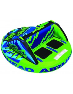 Airhead Towable Switch Back 4 people green Blue