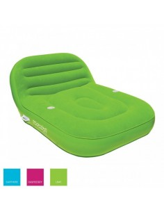 Airhead Inflatable Double Chaise Lounge 2 people lime