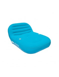 Airhead Inflatable Double Chaise Lounge 2 people sapphire