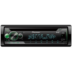 Pioneer DEH-S410DAB 1-DIN radio with DAB +, CD drive, USB, remote app