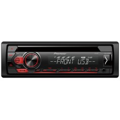 Pioneer DEH-S110UB 1-DIN radio with USB, CD drive and AUX