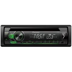 Pioneer DEH-S110UBG 1-DIN radio with CD drive, remote app and USB