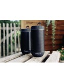 BLOCK AUDIO CONNECT:TWO Stereo Bluetooth Speaker Set Black