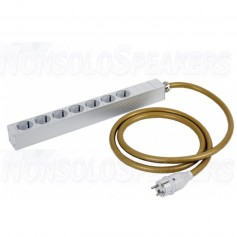 Van den Hul The MAINSSTREAM Schuko with 2.5 meter Schuko male - 7x Schuko female outlet