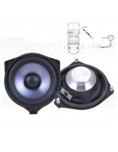 STEG BZ40B 10cm Rear Speaker (2pcs), 50W, 4 Ohm, for Mercedes