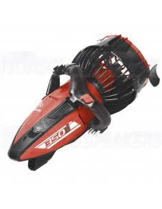 Yamaha Scooter underwater 350LI black red