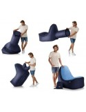 TRONO Sitzsack dark blue Inflatable Lounge Chair