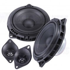 Steg BM45C kit 2 way speakers for bmw 100mm