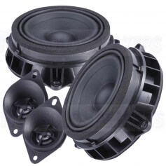 Steg bmx-45c kit 2 way speakers for bmw 100mm