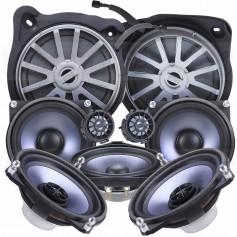 STEG BZ40A 10cm Speaker System, 50W, 4 Ohm, Mercedes