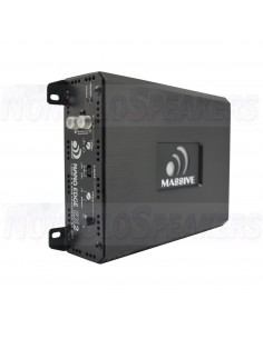 Massive Audio EX2 – 2 Channel Amplifier (Built-In OEM Line Converter)
