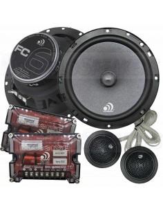 "Massive Audio FC6 - 6.5"" 150 Watts RMS Component Kit Speakers"