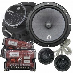 "Massive Audio FC6 - 6.5"" 150 Watts RMS Component Kit Speakers"