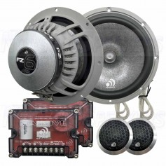 "Massive Audio FZ6 - 6.5"" 200 Watts RMS Component Kit Speakers"