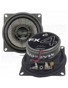 """Massive Audio P65X - 6.5"""" 2-Way 120 Watts RMS Coaxial"""