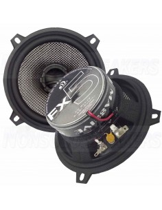 "Massive Audio FX5 - 5.25"" 2-Way 60 Watts RMS Coaxial Speakers"