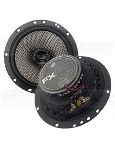 "Massive Audio FX6 - 6.5"" 2-Way 75 Watts RMS Coaxial Speakers"