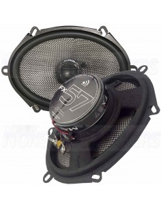 "Massive Audio FX57 - 5""x7"" 2-Way 70 Watts RMS Coaxial Speakers"