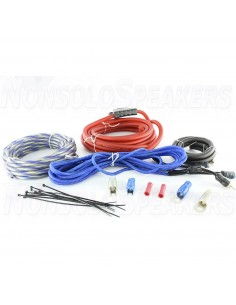 Massive Audio G4 - 4 AWG Full Wire Kit Silver