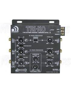 Massive Audio TRI-XO - 3 Way Electronic Crossover