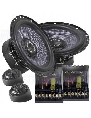 Gladen SQX 165 2-way component system 16cm