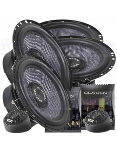 Gladen SQX 165 Dual 2-way double component system