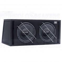 Gladen M 12 VB Dual 2 x 30cm bass reflex cabinet subwoofer