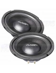 Gladen HG-200SLIM-4 20cm woofer speakers