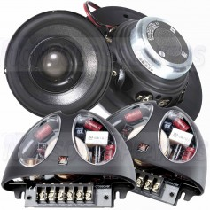 "Morel Hybrid Integra 402 4"" 2-way car speakers"