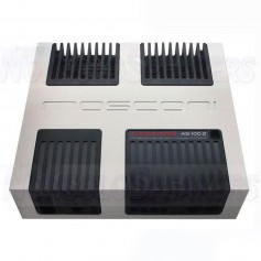 Mosconi AS 100.2 Amplifier 2 channels 4 ohms silver