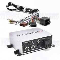 Mosconi Pico 2.0 KIT 2-channel digital amplifier including ISO T cable kit