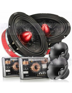 "Xcelsus Audio MAGMA 6.2SQL SQL 6.5"" kit 2 way speakers"