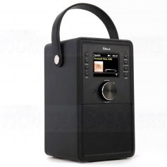 BLOCK AUDIO CR-10ToGo! Portable Connected Radio Black