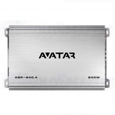 Avatar ABR-240.4 amplifier 4 channel