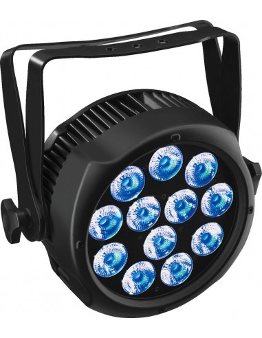 IMG STAGELINE ODP-120/6COL LED spotlight for outdoor