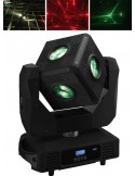 IMG STAGELINE CUBE-630/RGBW LED moving head