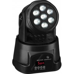 IMG STAGELINE WASH-42LED Mini Moving-Head-Washer