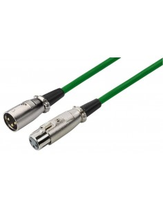 MONACOR MEC-100/GN XLR cable line and microphone