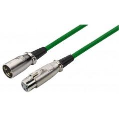 MONACOR MEC-100/GN XLR cable line and microphone