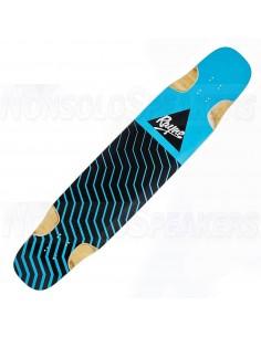 Rayne Nae Nae Longboard Deck blue