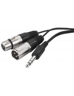 Monacor MCI-363X Audio insert/stereo cable