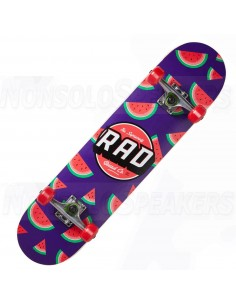 RAD Dude Crew Complete Skateboard Watermelon