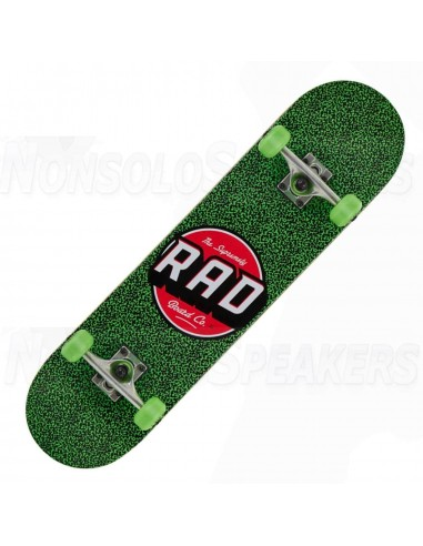 RAD Dude Crew Complete Skateboard green