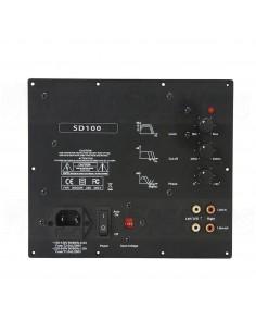 Luxus Audio SD100 - Class D recessed amplifier for 100W @ 4ohm subwoofer
