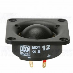 MOREL MDT 12 - 28mm Soft Dome Tweeter